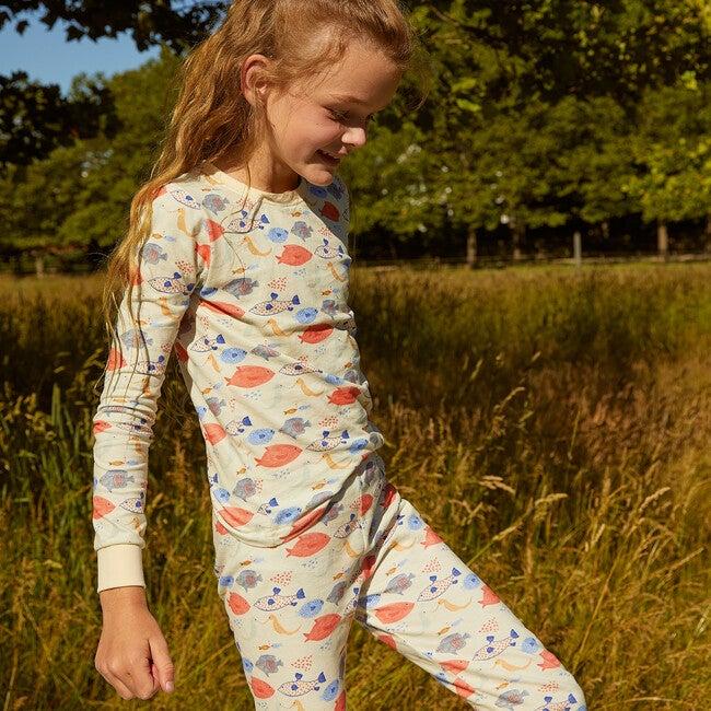 Taylor Long Sleeve Pajama Set, Kissing Fish