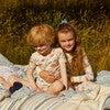 Taylor Long Sleeve Pajama Set, Kissing Fish - Pajamas - 4