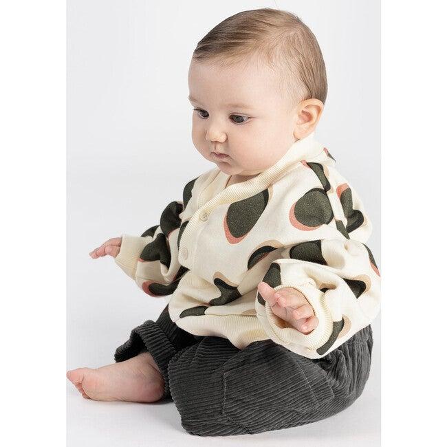 Baby Corduroy Harem Pants, Vintage Black