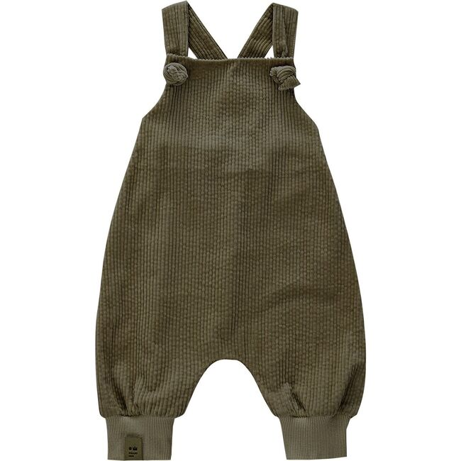 Baby Corduroy Dungarees, Olive
