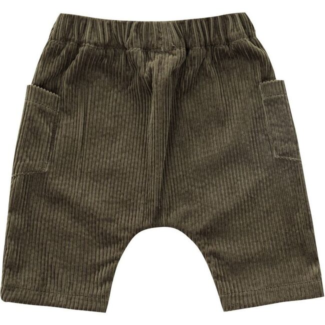 Baby Corduroy Harem Pants, Olive