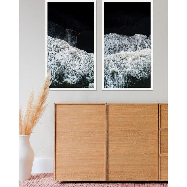 Shore Panel 1 Framed Art, Navy