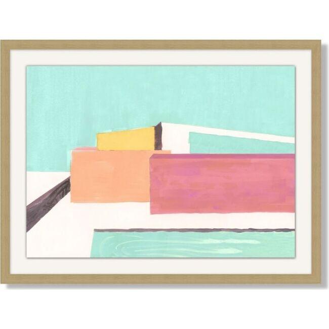 Expressionist Home by Nathan Turner Framed Art, Multi