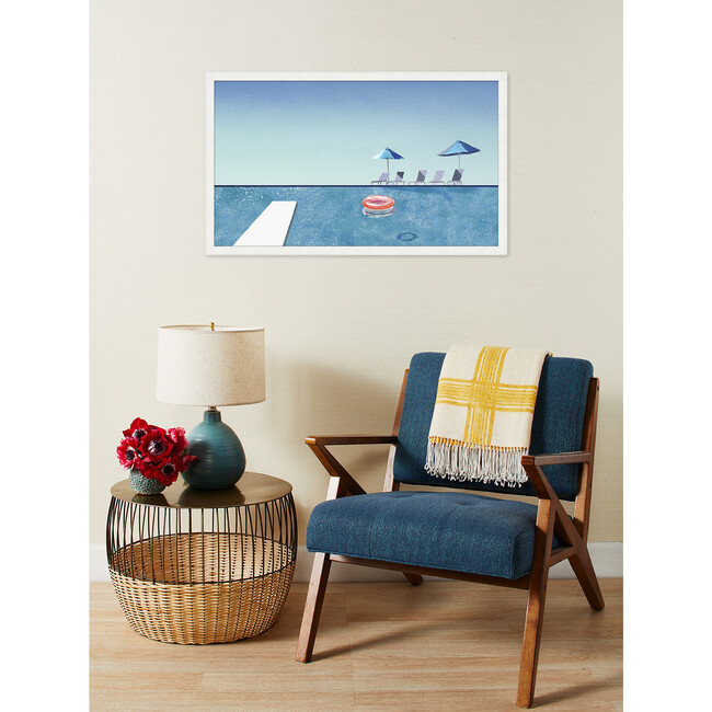 Palm Springs Deck by Nathan Turner Framed Art, Multi