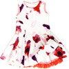 Elena Dress, Red Floral - Dresses - 1 - thumbnail