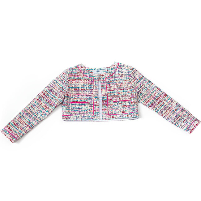Coco Jacket, Purple and Pink - Jackets - 1
