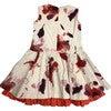 Elena Dress, Red Floral - Dresses - 3
