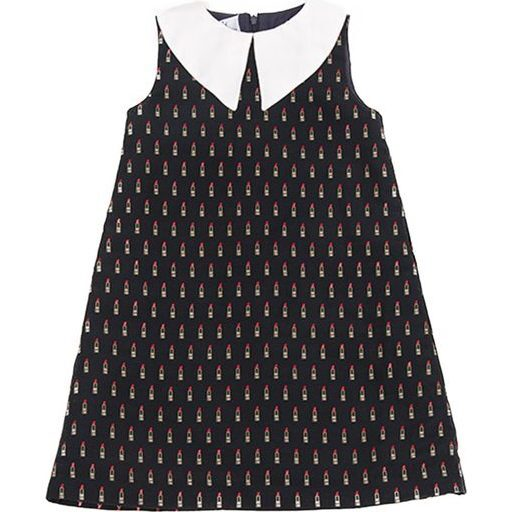Sleeveless Lipstick Dress