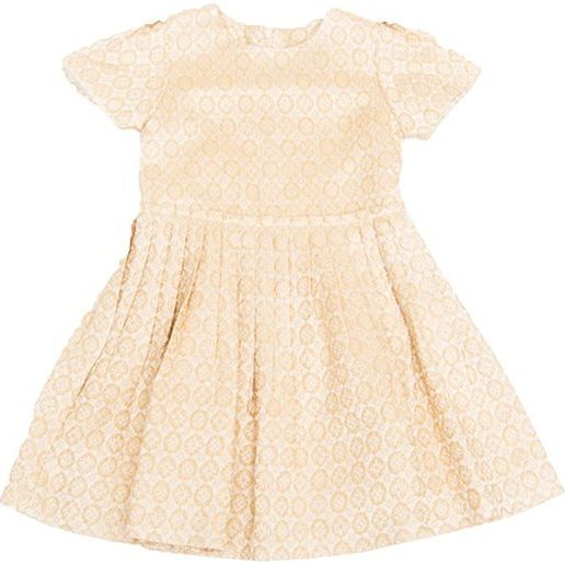 Marcy Dress, Gold