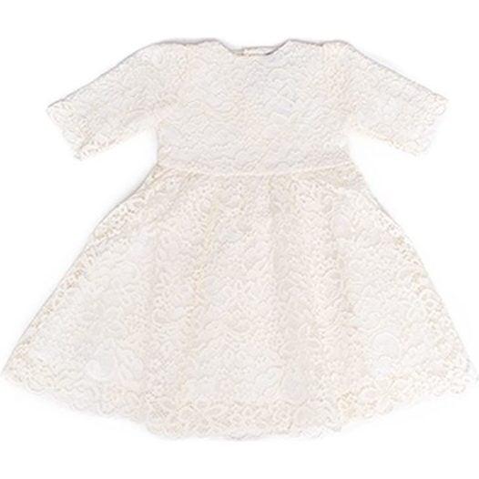 Cyra Dress, Ivory - Dresses - 1