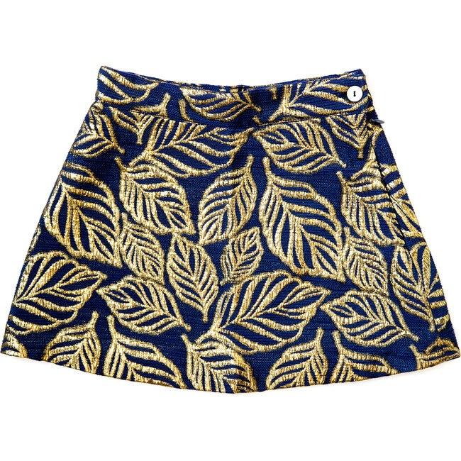Leaf Shirley Skirt, Blue
