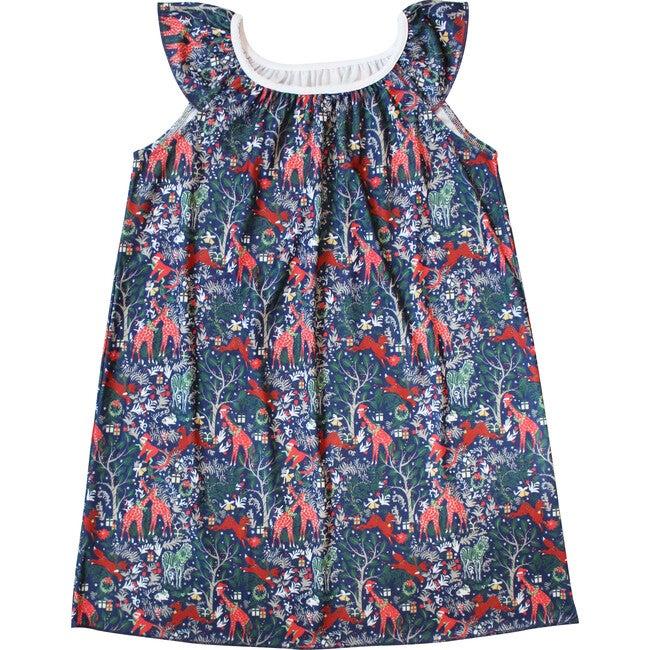 Navy Marina Dress, Holly Jolly Jungle