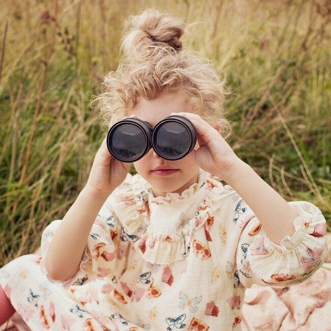 Cleo Dress, Cream Butterflies