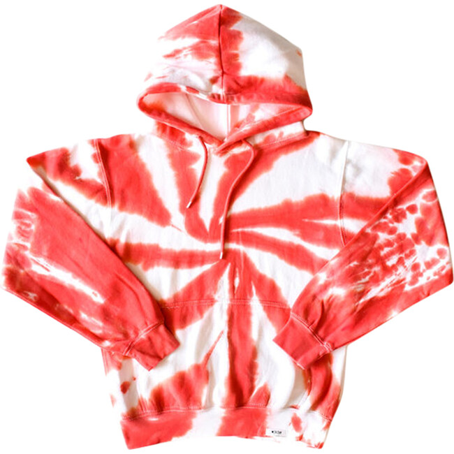 Adult Hoodie, Candy Cane Tie Dye