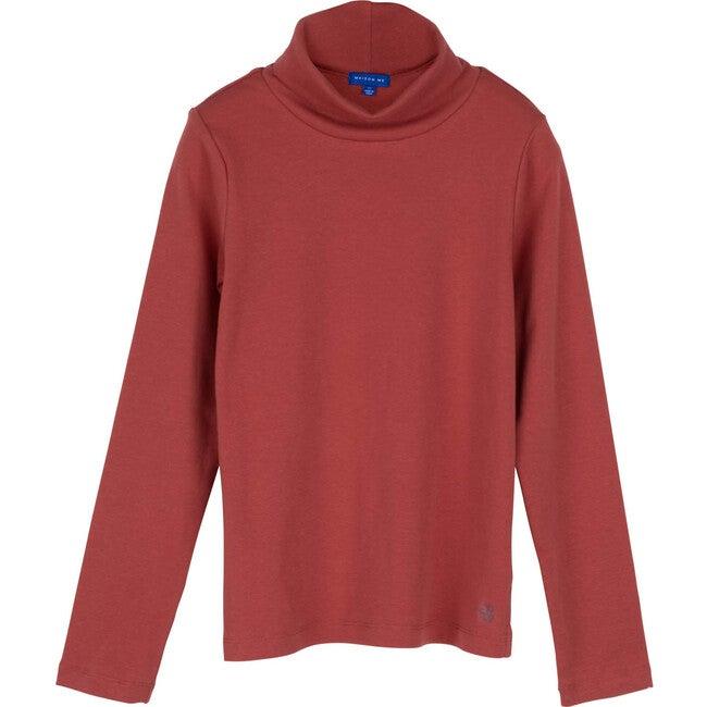 Kennedy Turtle Neck, Rose - Shirts - 1