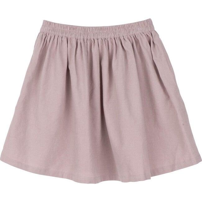 Cassie Cord Skirt, Lavender Mini Cord
