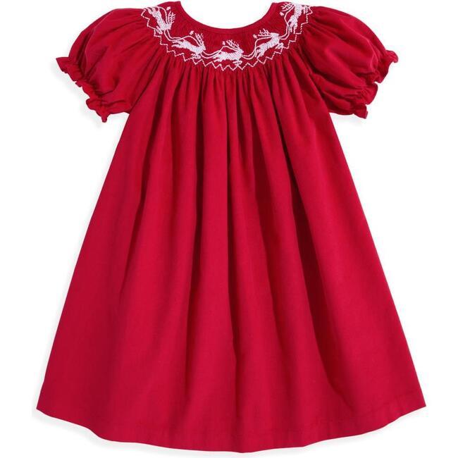 Bishop Dress, Red