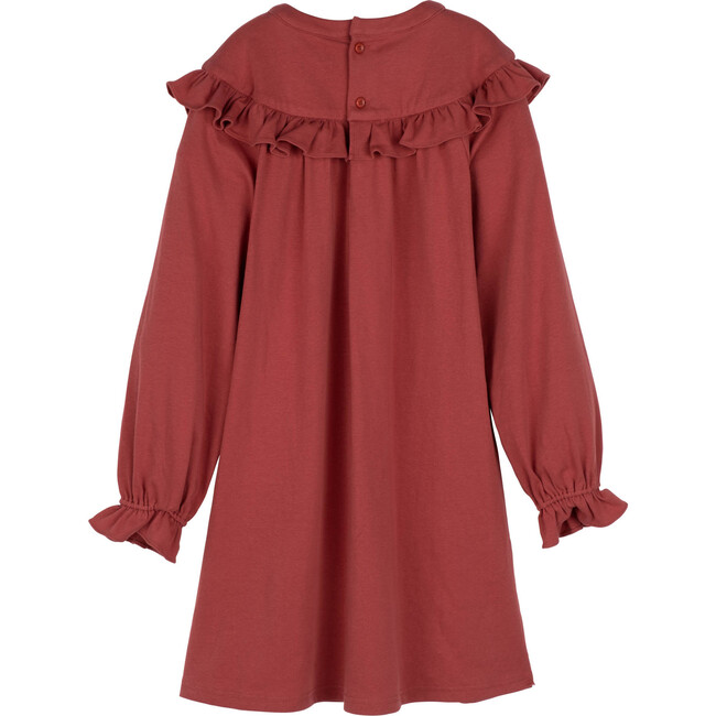 Octavia Jersey Dress, Winter Rose