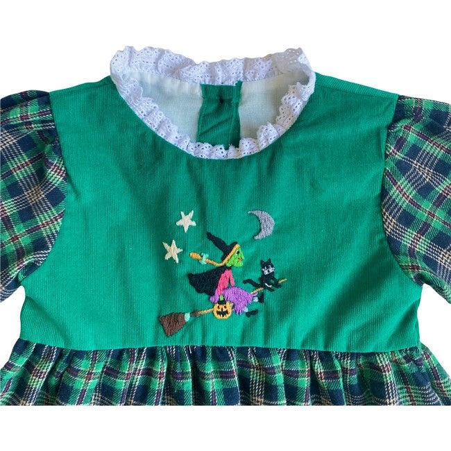 Mildred Dress, Green