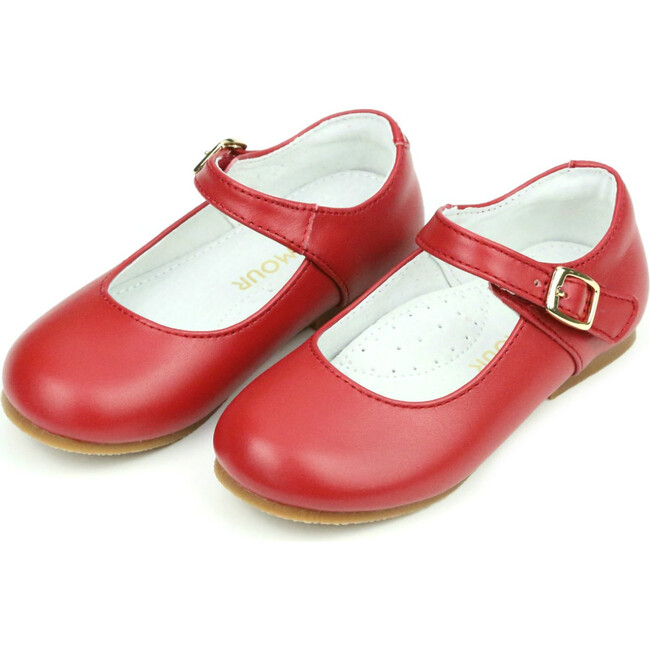 Rebecca Special Occasion Flat, Red