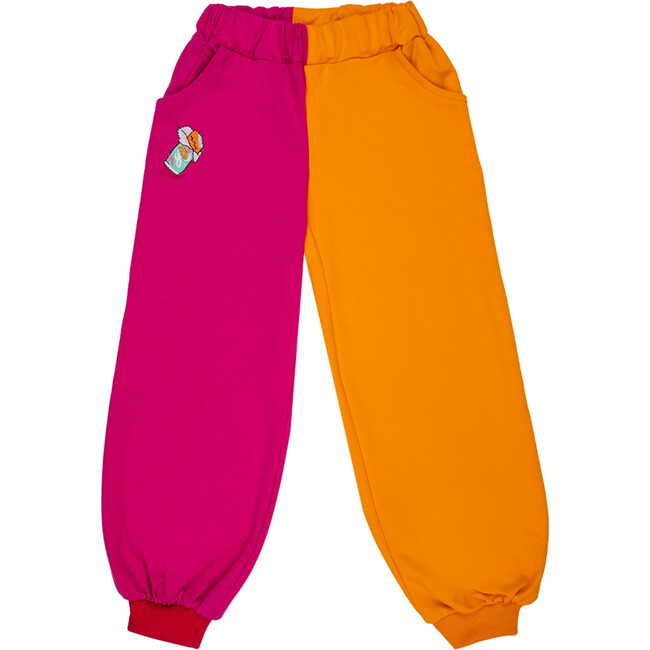 Balloon Sweatpants, Candy Bar Pink/Orange