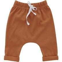 Pumpkin Spice Cotton Baby Joggers