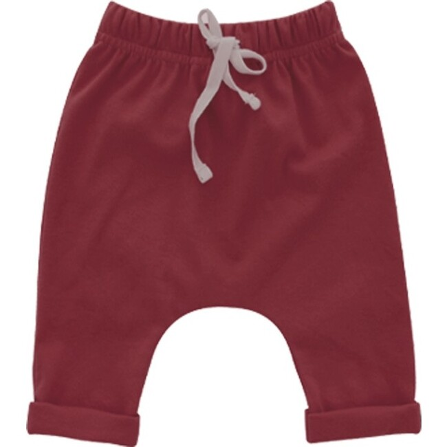 Merlot Cotton Baby Joggers