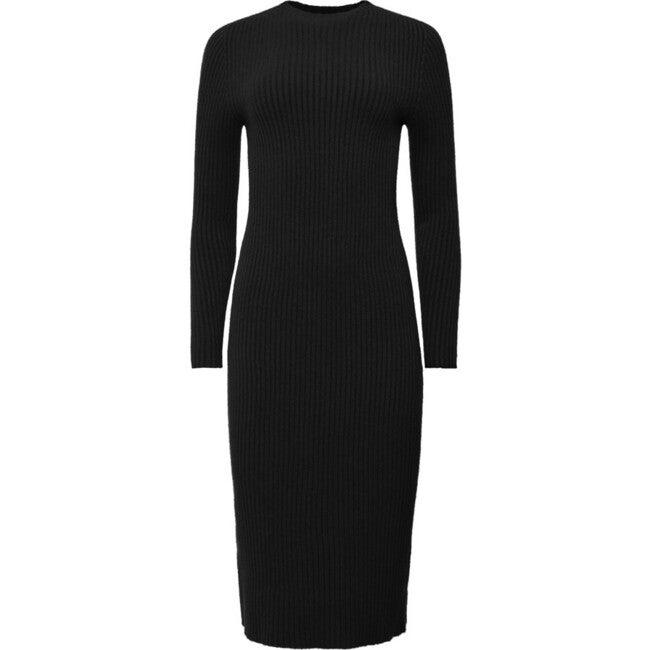 Women's Malia Sweater Dress, Noir