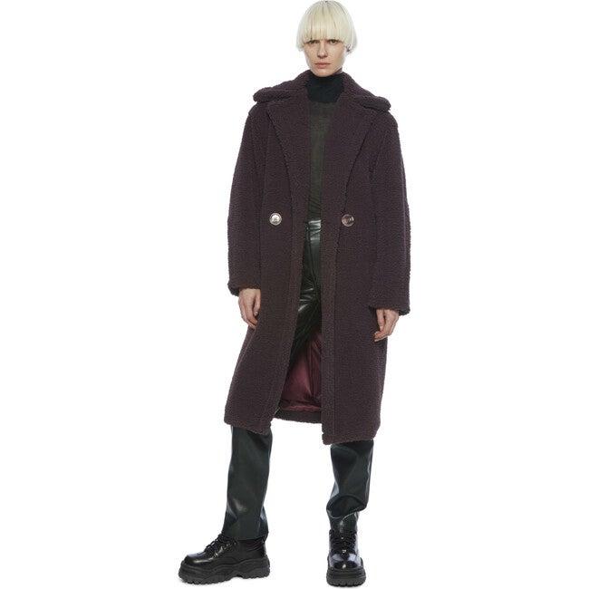 Women's Daryna Coat, Tobacco