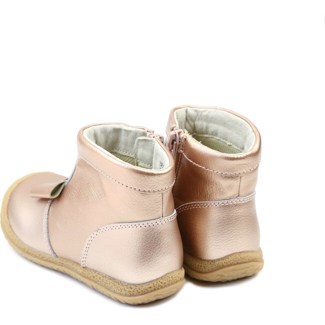 Hilary Bow Boot, Rose Gold
