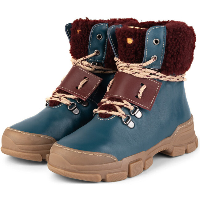 Ride.Bordeaux Chunky Boots, Multi-color