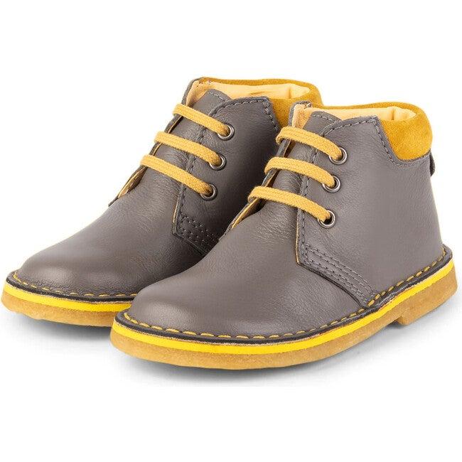 Grey Desert Boots, Grey