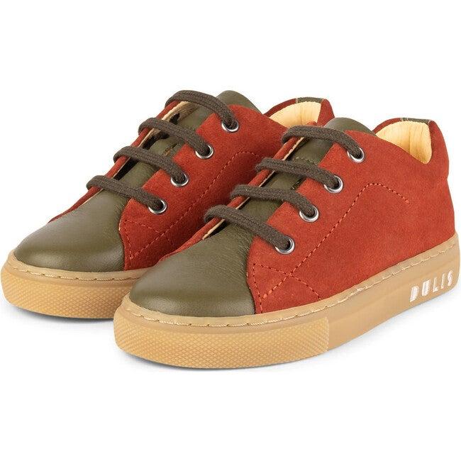 Olive.Muskat Minimalist Sneakers, Multi-color