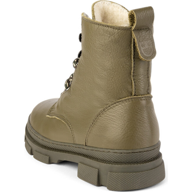 Olive Combat Boots, Olive