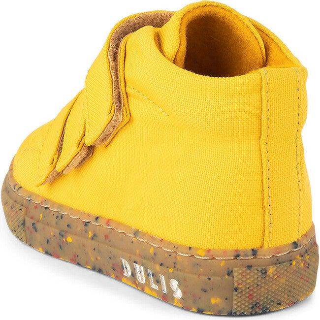 Mustard Eco Strap Mid Sneaker, Mustard