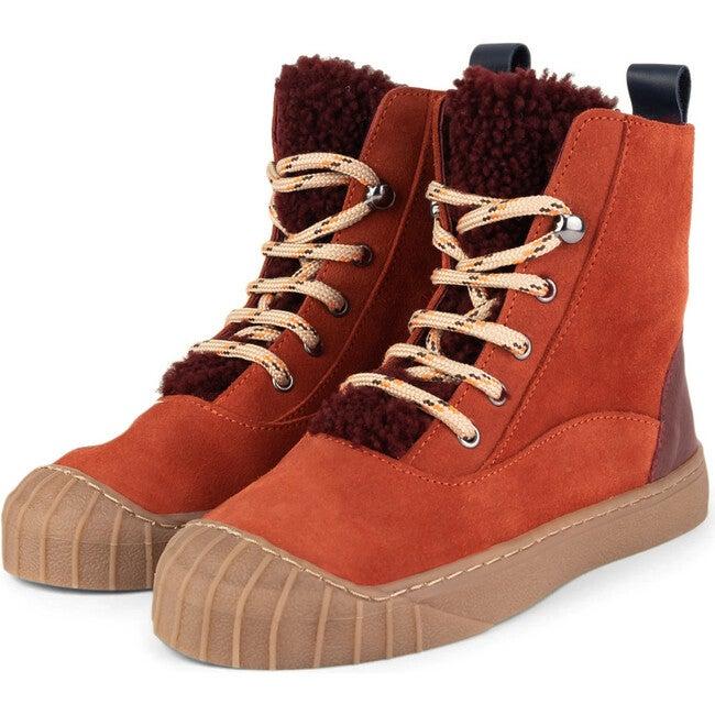 Muskat.Bordeaux Hi-Top Sneakers, Multi-color