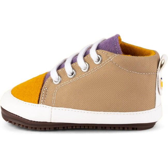 Mauve.Beige Eco Sneaker Booties, Multi-color