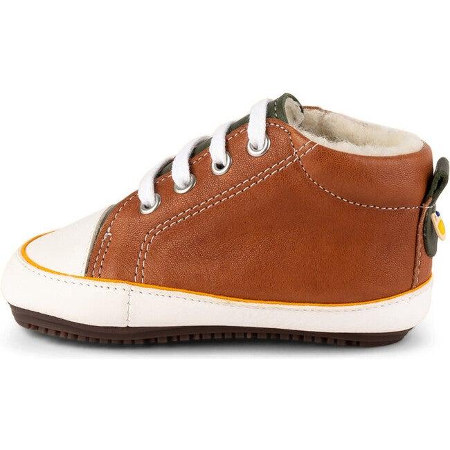 Olive.Brandi Sneaker Booties, Multi-color