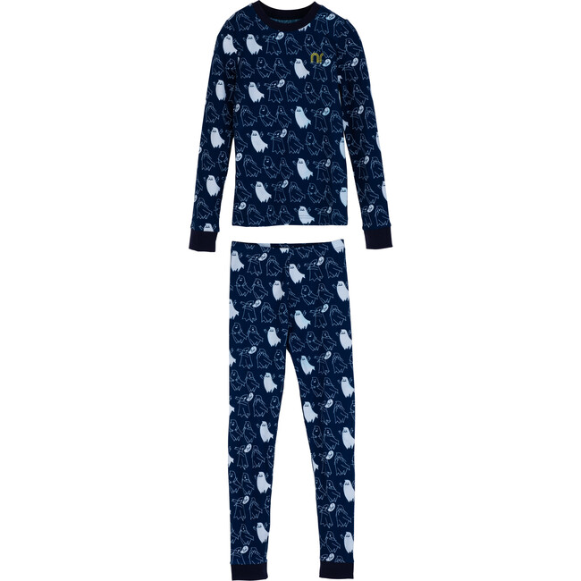 Dahl Halloween Pajama Set, Ghosts