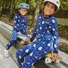 Dahl Halloween Pajama Set, Ghosts - Pajamas - 4
