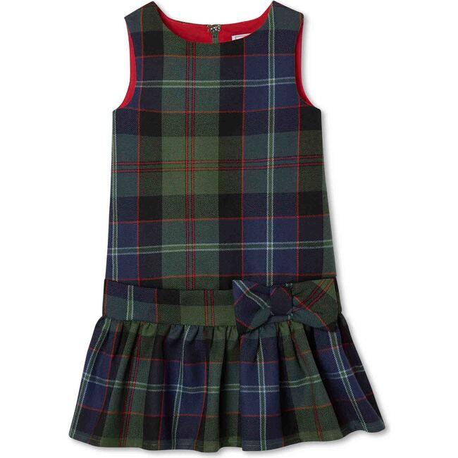 Cameron Drop Waist Dress, Lochaber Tartan