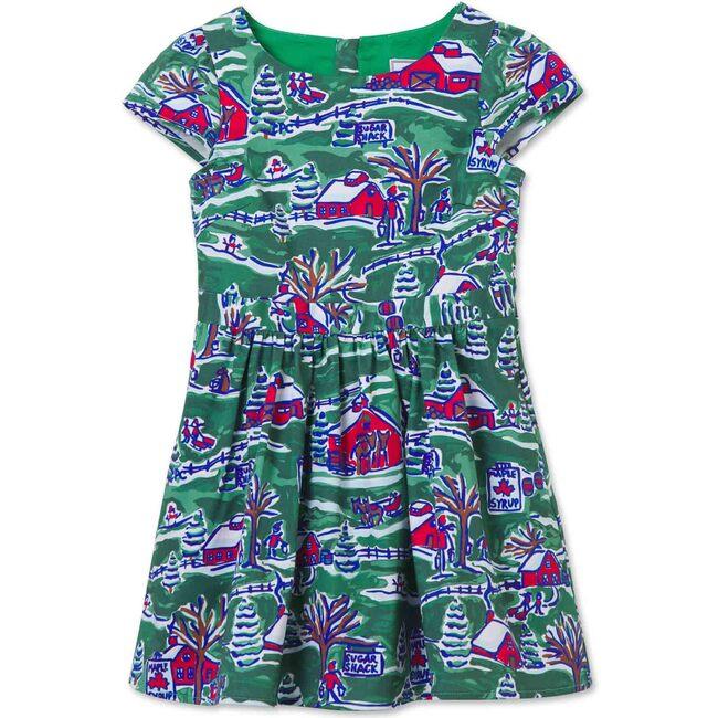 Tilly Cap Sleeve Dress, Sugarshack Print