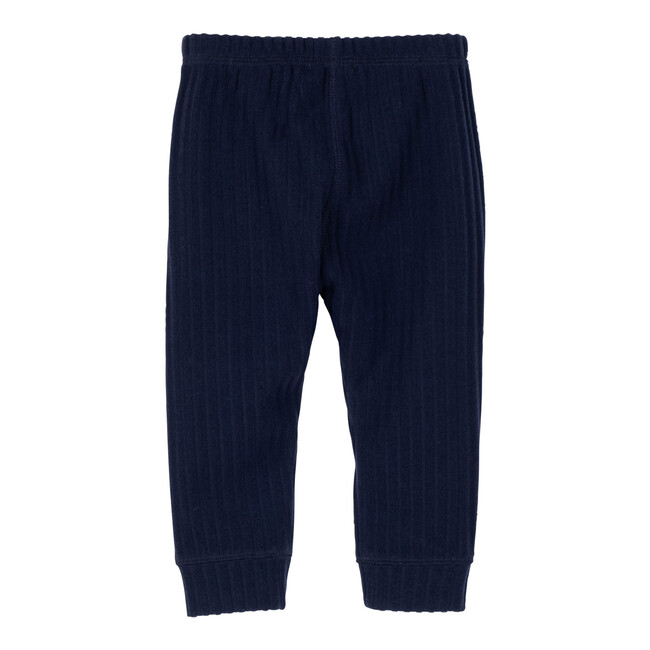 Baby Shia Legging with Knee Patch, Navy