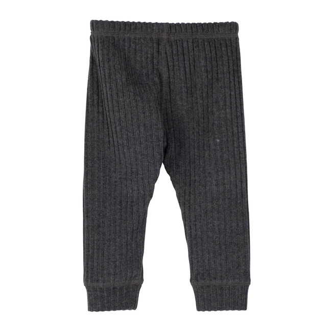 Baby Shia Legging with Knee Patch, Heather Grey