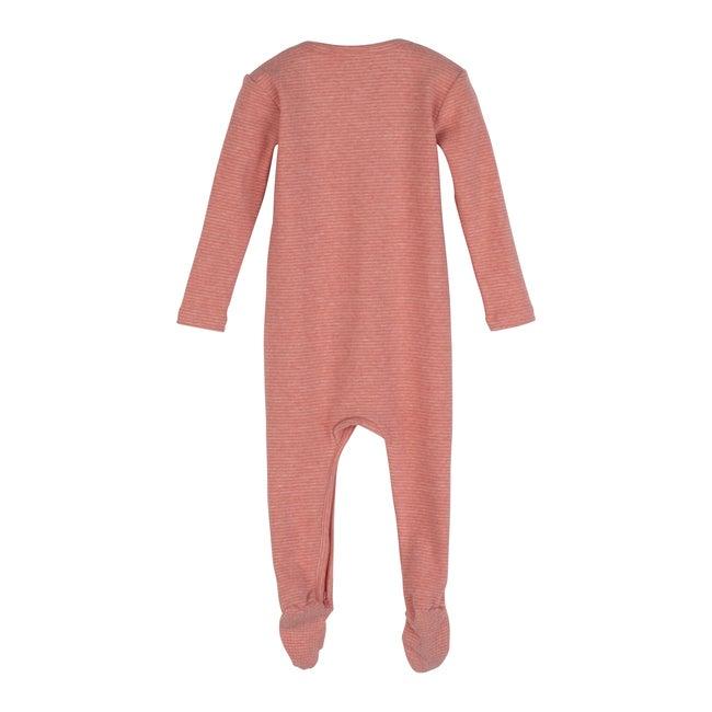 Baby Sawyer Zip Footie Pajama, Pink Stripe