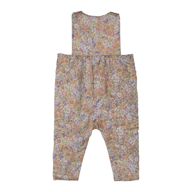 Baby London Coverall, Sage & Brown Floral