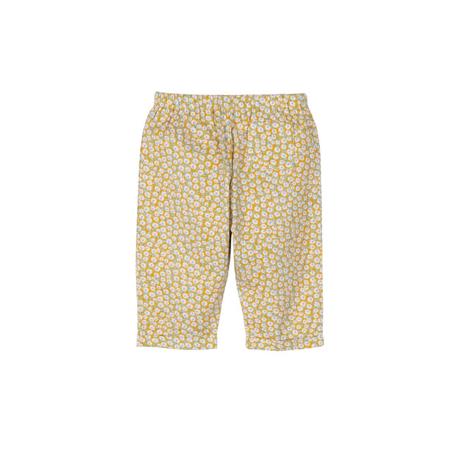 Baby Harley Pant, Yellow Ditsy Floral
