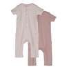Baby Wilson Coverall Duo, Pink Multi - Onesies - 1 - thumbnail