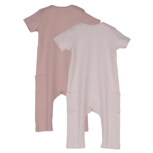 Baby Wilson Coverall Duo, Pink Multi
