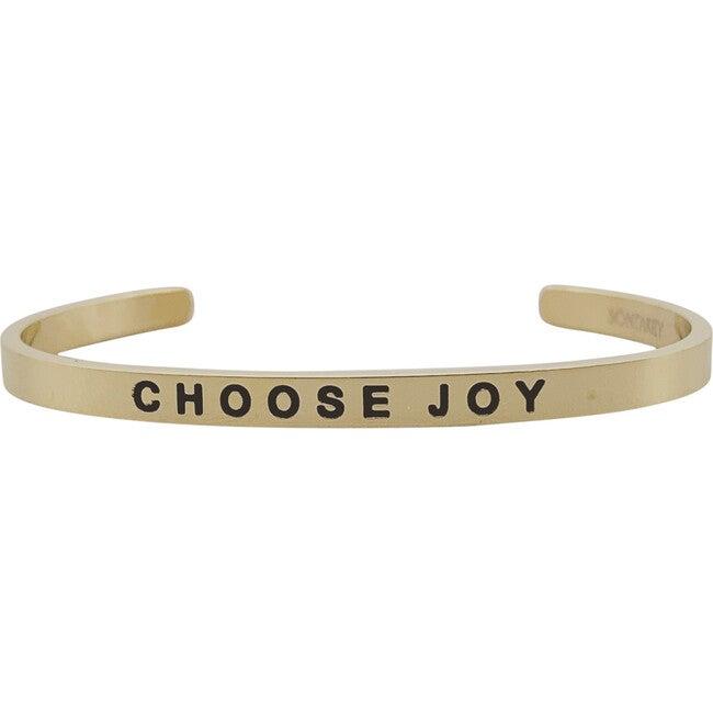 """Baby & Child """"Choose Joy"""" Bracelet, Gold"""